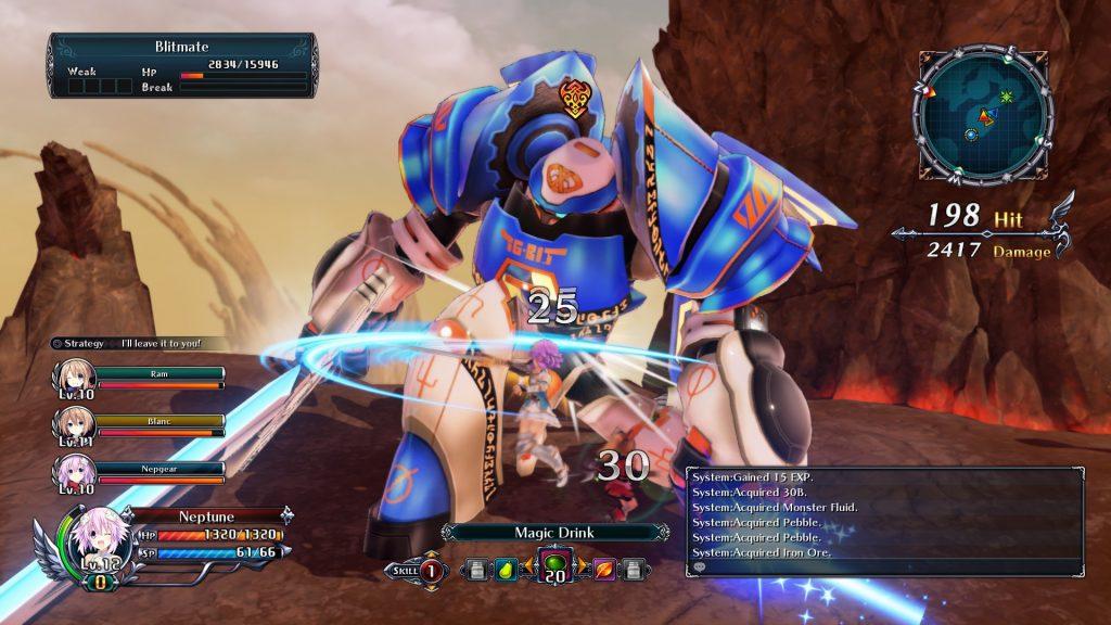 Cyberdimension Neptunia: 4 Goddesses Online 3