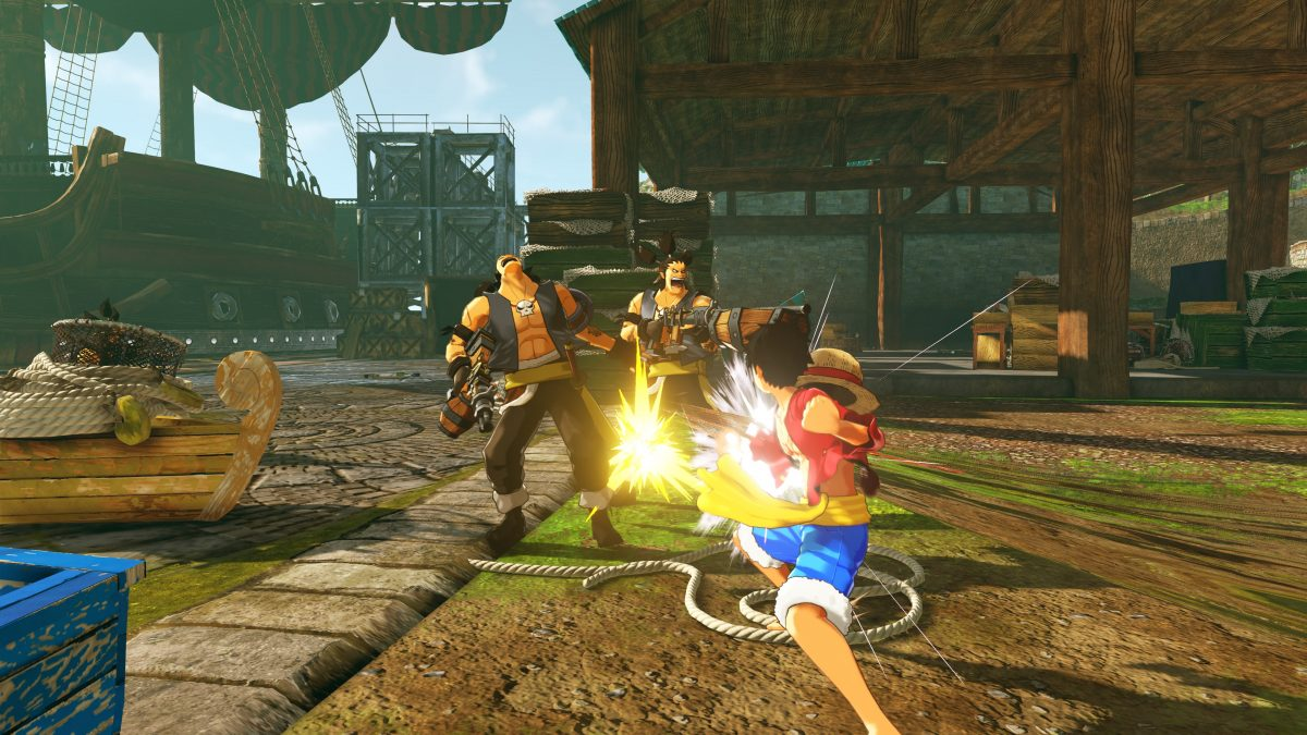 One Piece World Seeker Releases Treasure Trove of Assets ...