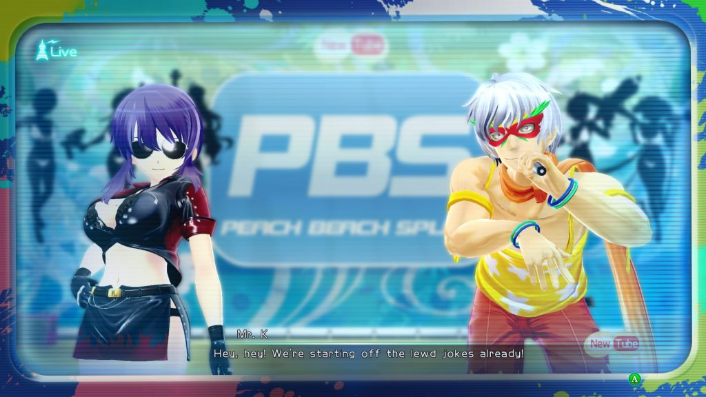 Senran Kagura Peach Beach Splash 1
