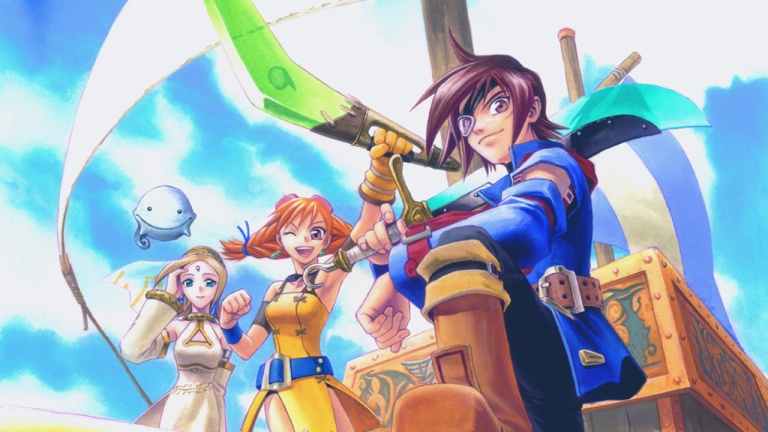 Skies of Arcadia Banner