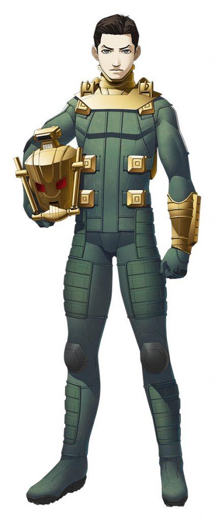 Shin Megami Tensei: Strange Journey Redux Protagonist
