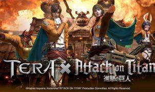 TERA x Attack on Titan Collaboration