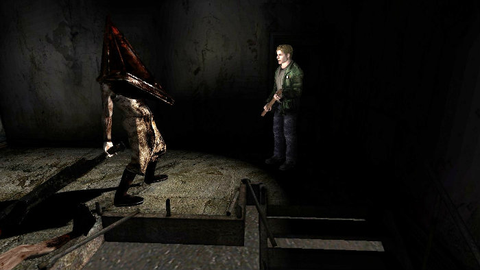 silent hill 2 gameplay