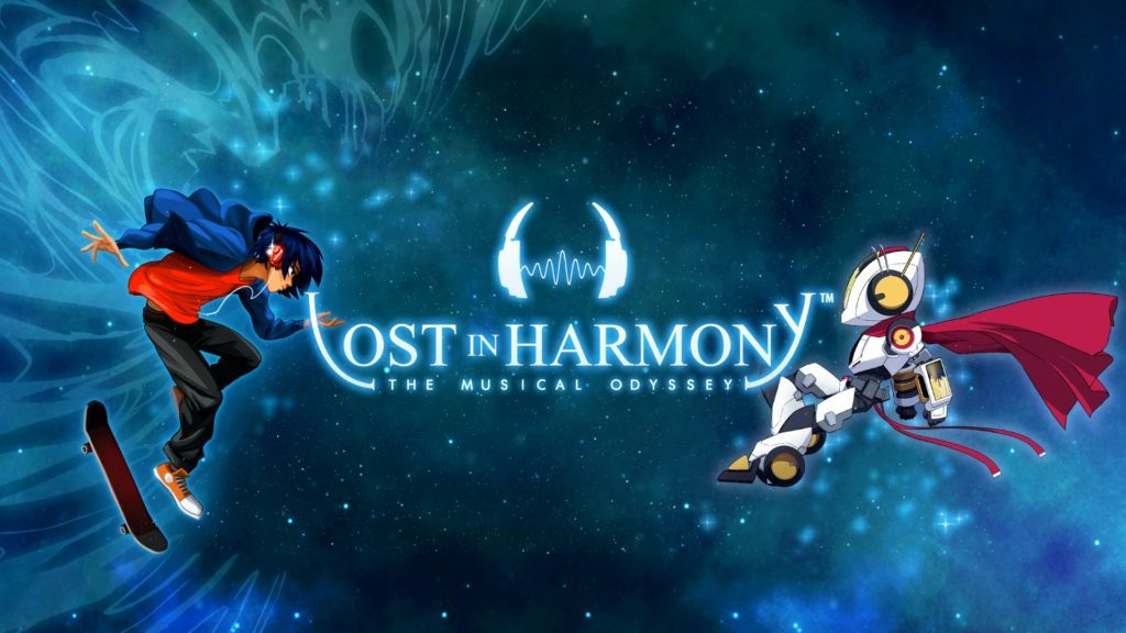 Lost in Harmony Banner