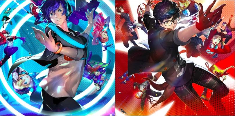 Persona 3: Dancing in Moonlight & Persona 5: Dancing in Starlight Banner