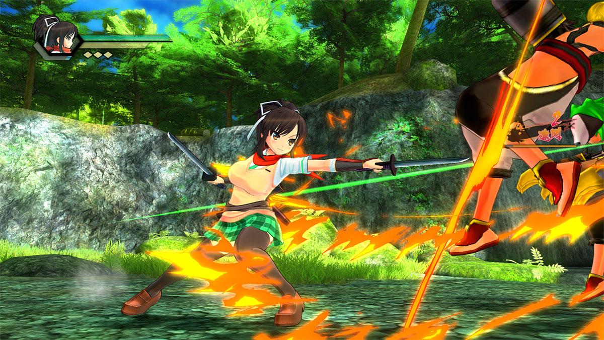 PlayStation Alternatives | Senran Kagura Burst Re:Newal