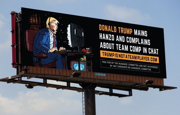 Donald Trump and Hanzo