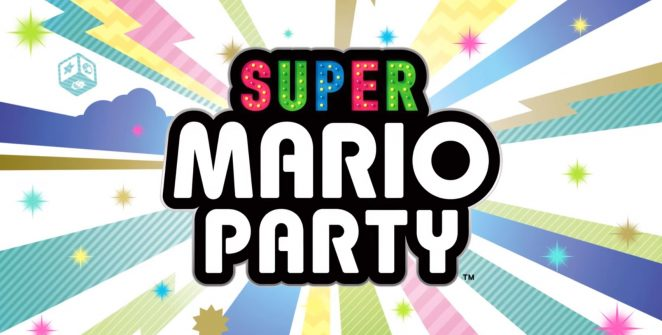 super mario party logo