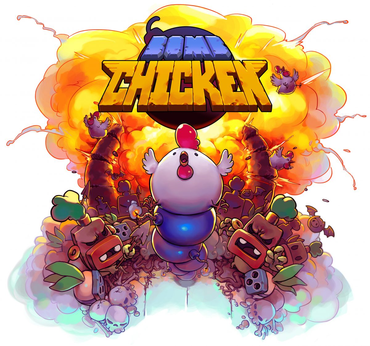 Bomb Chicken Review Switch Hey Poor Player Game With Writing A On The Upcoming By Nitrome I Wasnt Quite Sure What To Expect After All Breadth Of My Knowledge