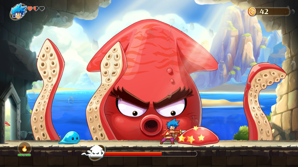 Monster Boy Preview