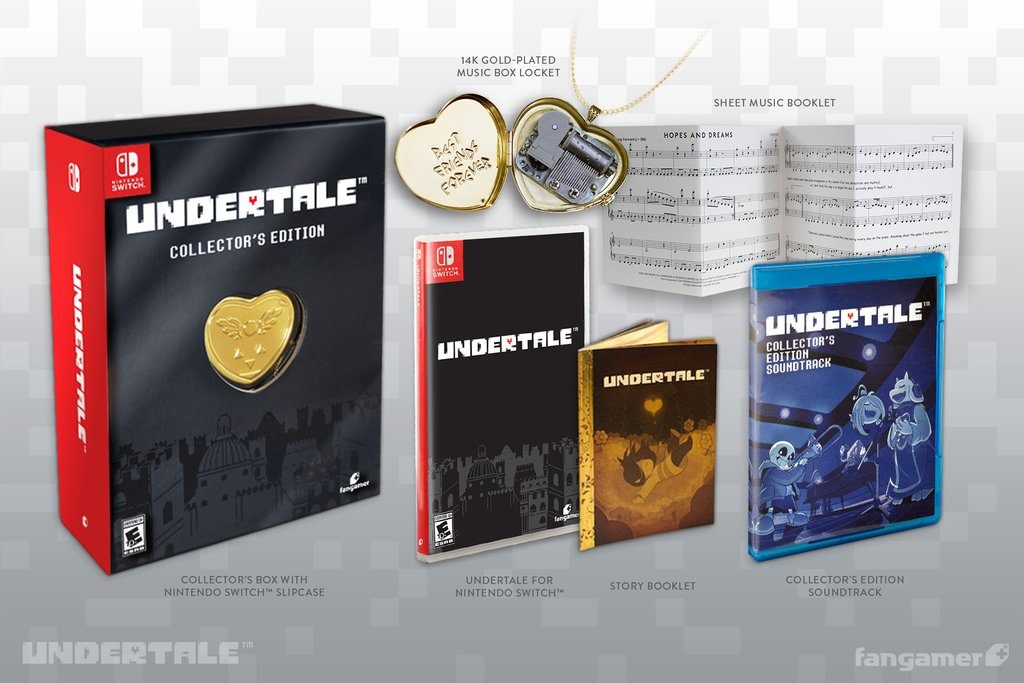 Undertale Collector's Edition, Switch