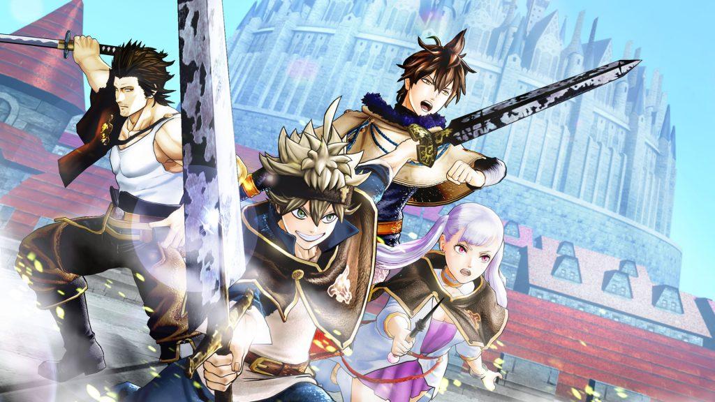Black Clover: Quartet Knights Banner