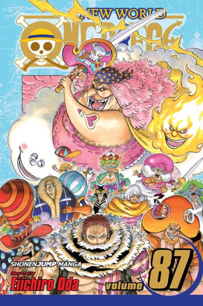 one piece volume 87
