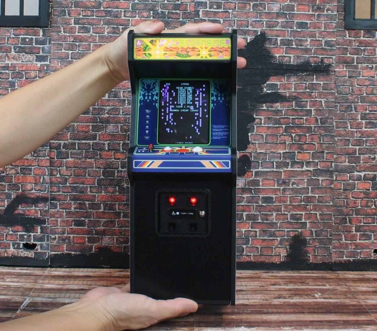 Stickman Escape Madhouse: Bring The Arcade Home With The RepliCade X Centipede Mini