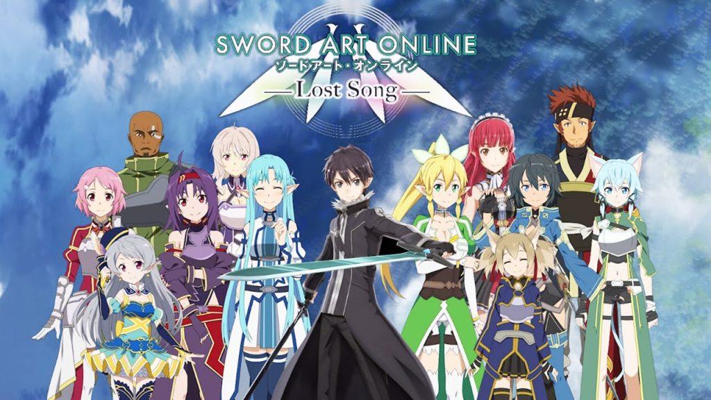 sword art onilne: lost song