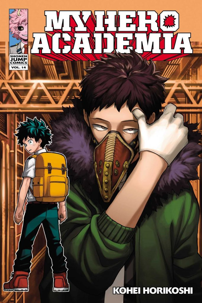 my hero academia volume 14 review