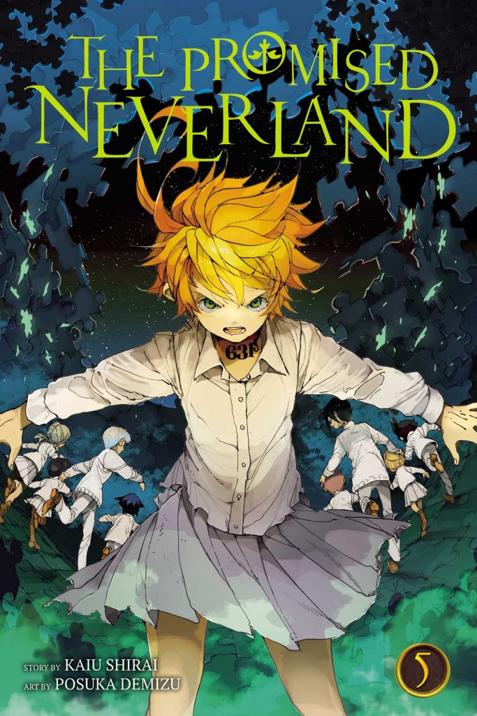 the promised neverland volume 5 review