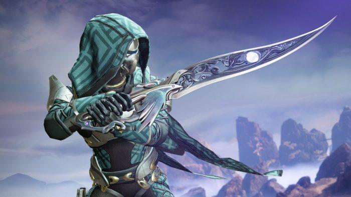 Destiny 2 Hunter with a knife