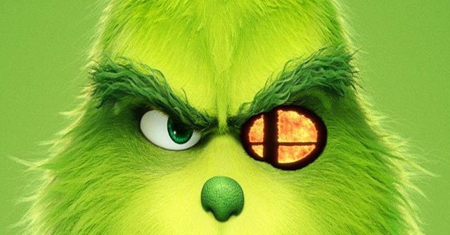 grinch smash bros