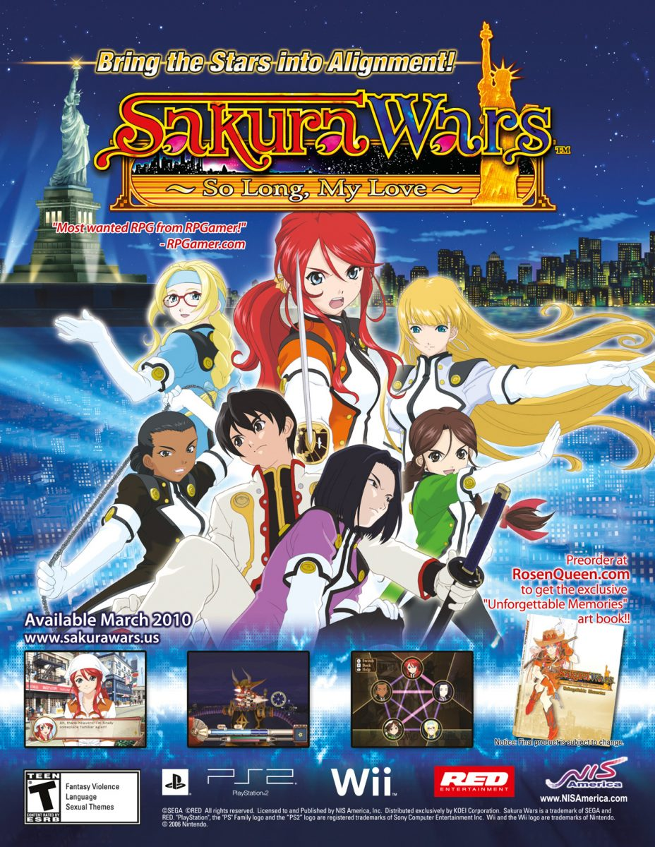 Farewell Sony | Sakura Wars