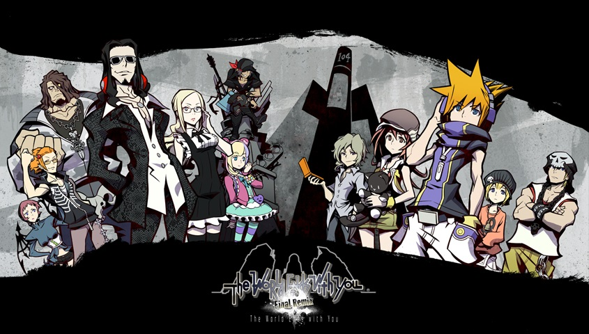 The World Ends With You: Final Remix Banner