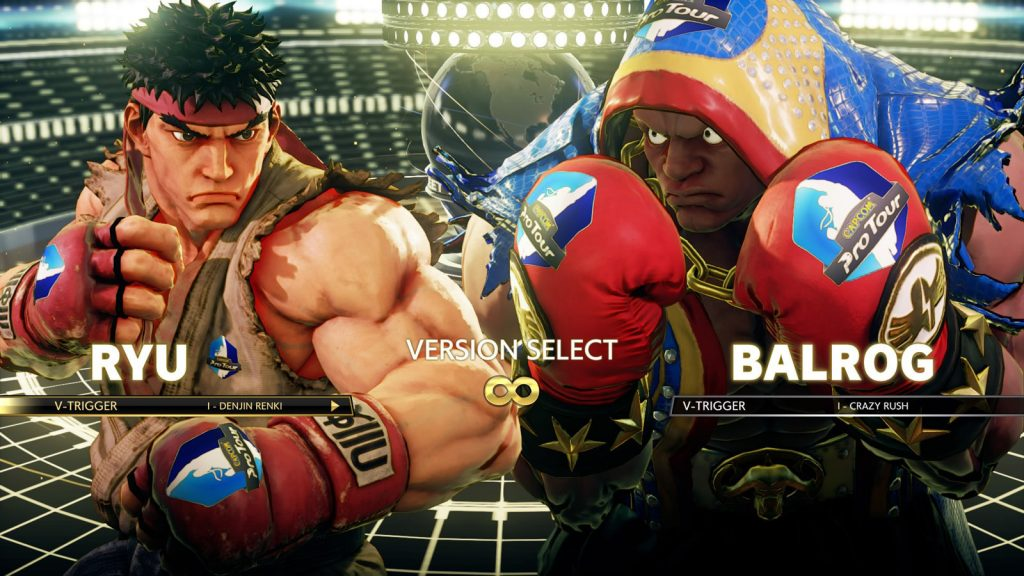 Street Fighter V ads