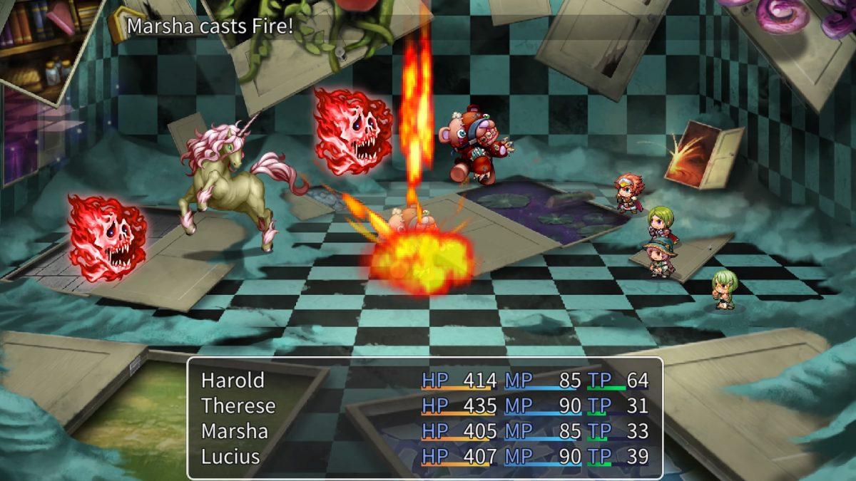 PlayStation Alternatives | RPG Maker MV | Battle