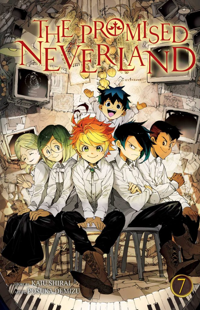 the promised neverland volume 7 review