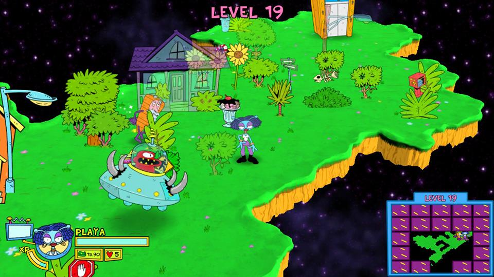 Toejam and Earl: Back in the Groove Switch