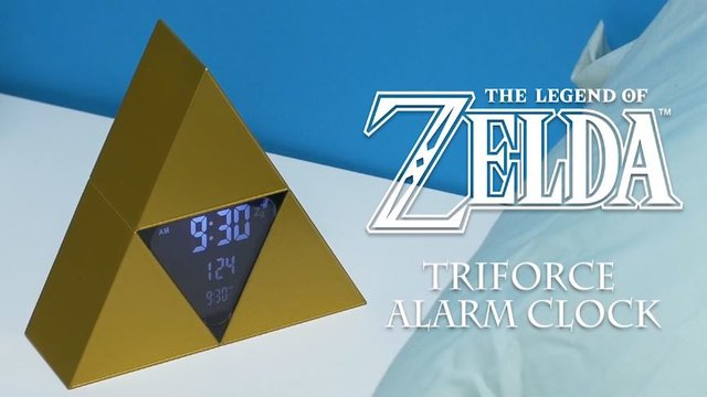 triforce alarm clock