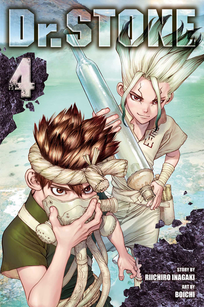 dr. stone volume 4 review