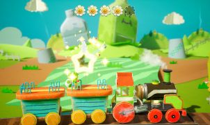Rail-Yard Run Yoshi's Crafted World Guide