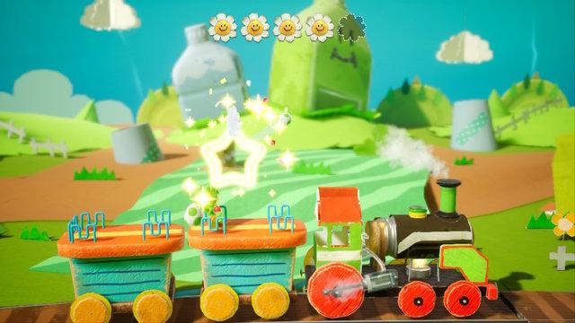 Rail-Yard Run Yoshi's Crafted World Guide