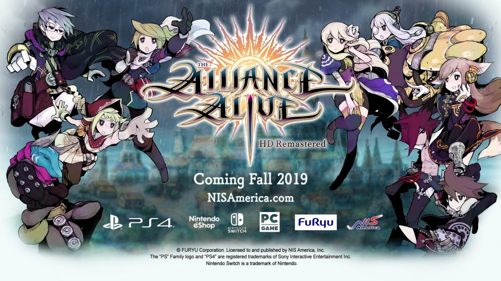 The Alliance Alive HD Remaster   Header