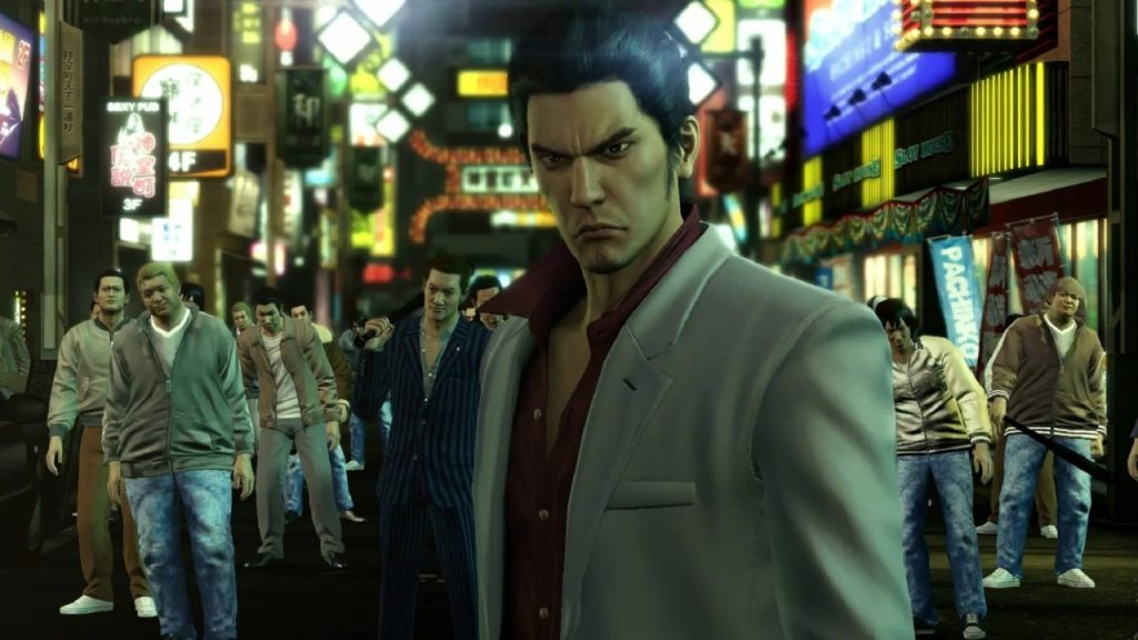 Kiryu Looking Pensive