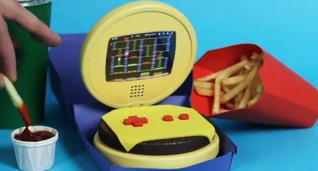 game boy burger