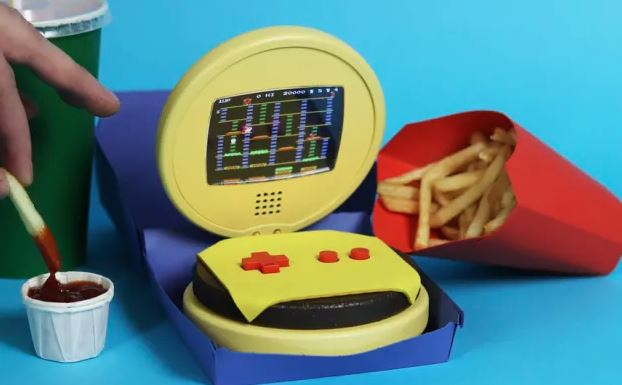 game boy burger