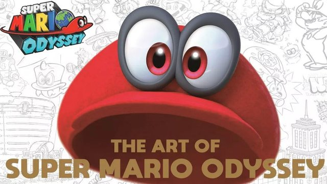 The Art Of Super Mario Odyssey Coming To America This
