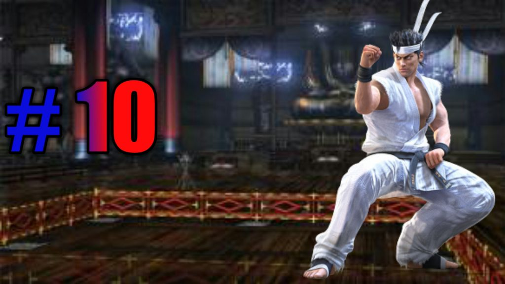 top ten fighting game protagonists, Akira Yuki