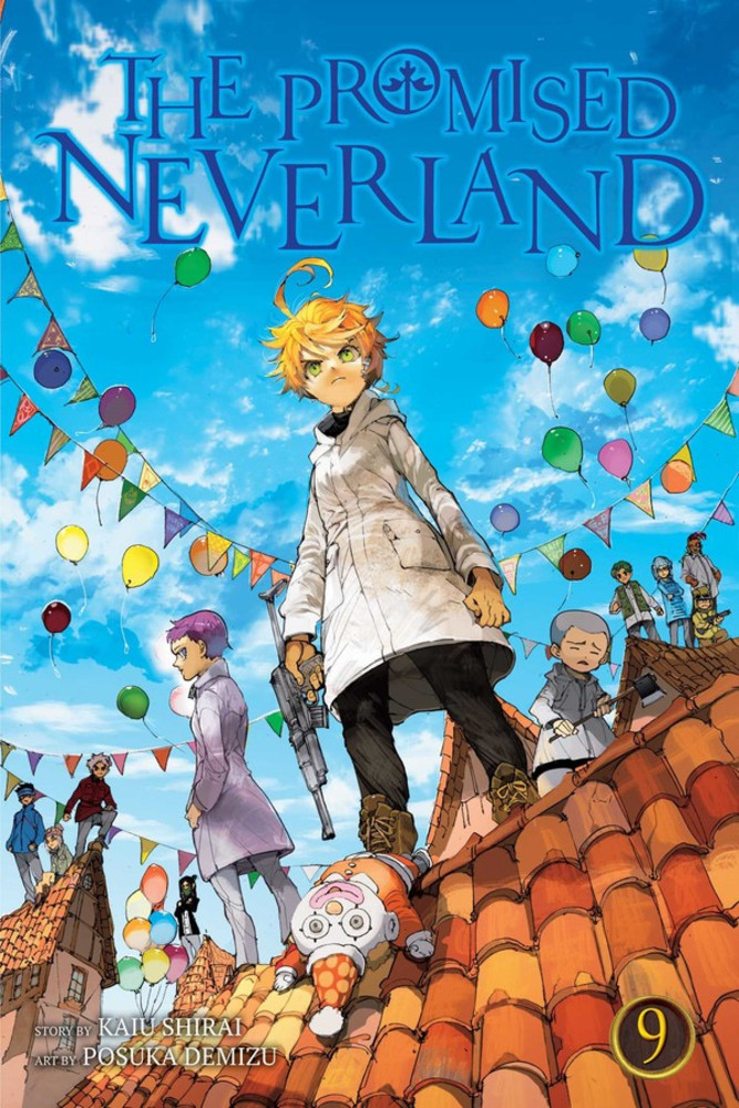the promised neverland volume 9 review
