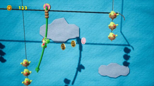yoshi pulls some strings