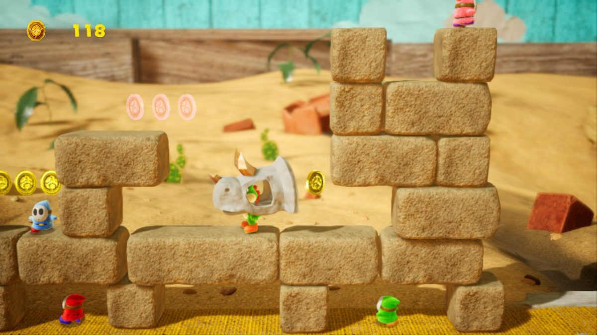 Dino Smash Collectibles Guide (Yoshi's Crafted World)   Hey