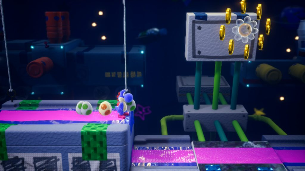 space-hub hubbub guide yoshi's crafted world