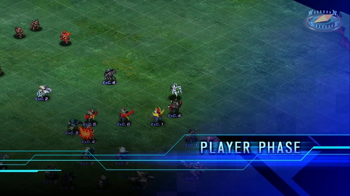 Super Robot Wars T | Player Phase