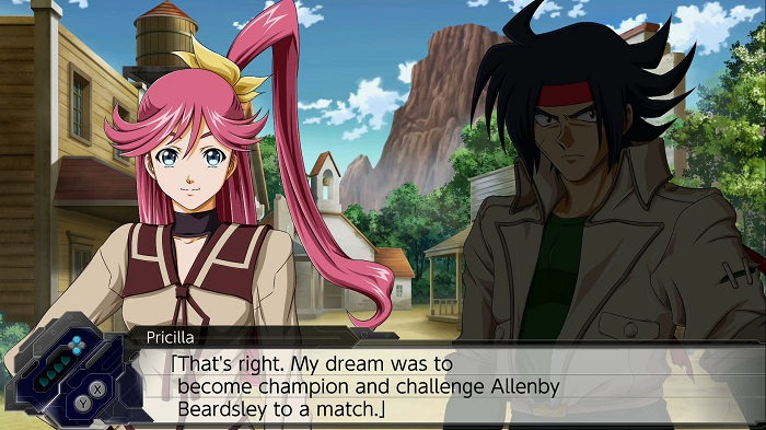 Super Robot Wars T - Pricilla & Allenby