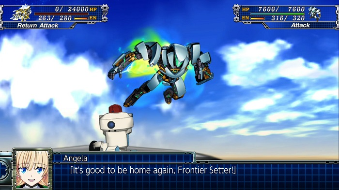 Super Robot Wars T | Welcome Home, Angela
