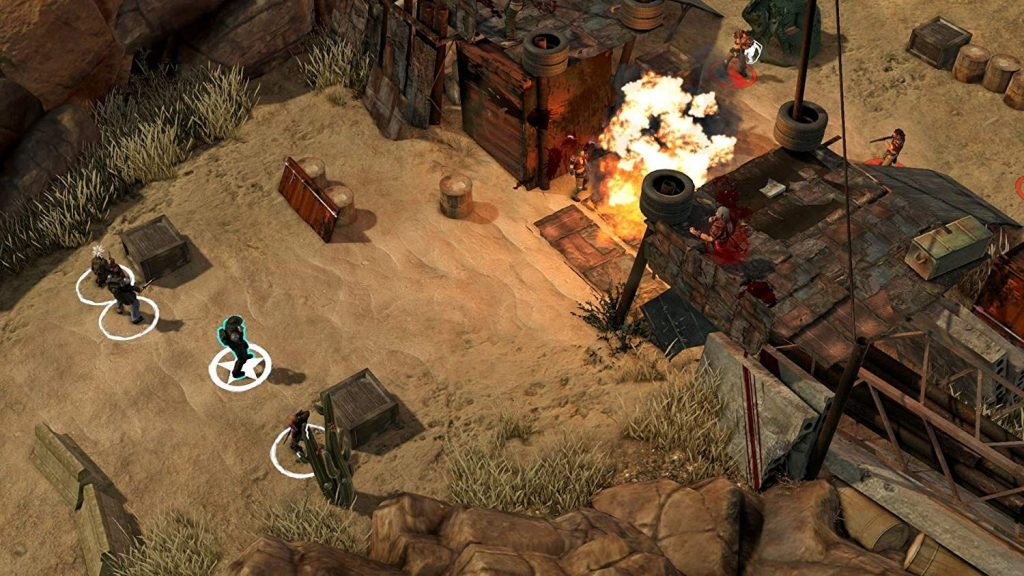 Wasteland 2, Switch