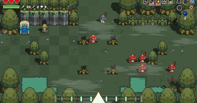 cadence of hyrule lost woods guide
