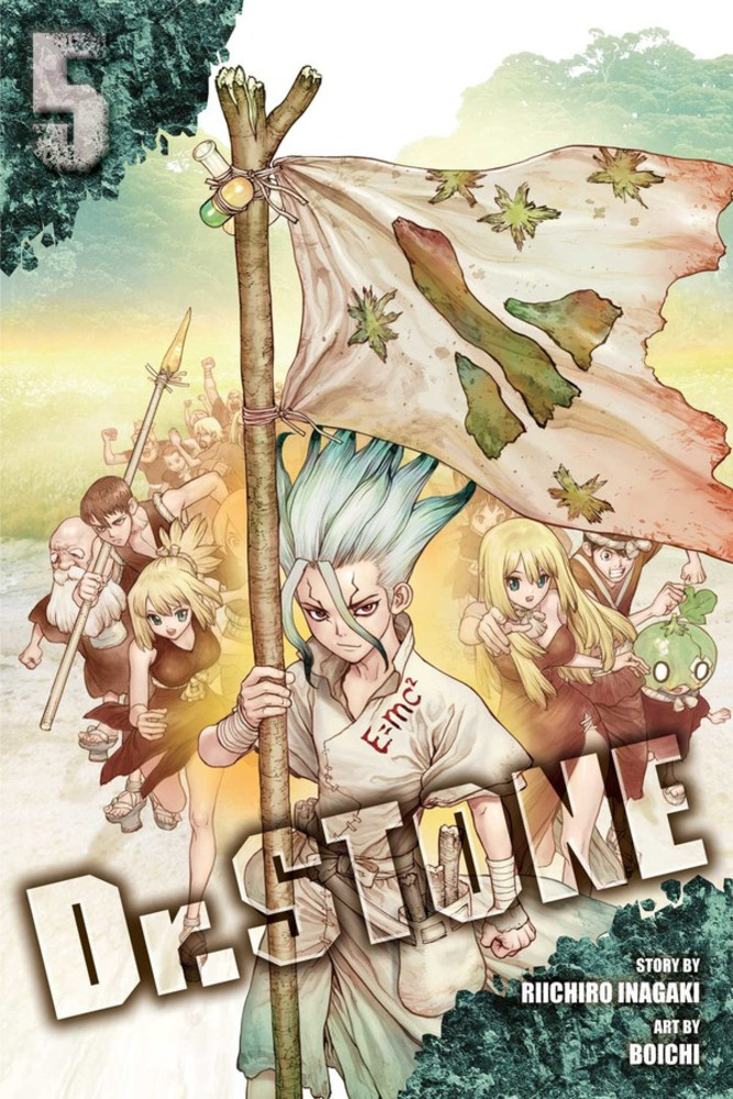 dr. stone volume 5 review