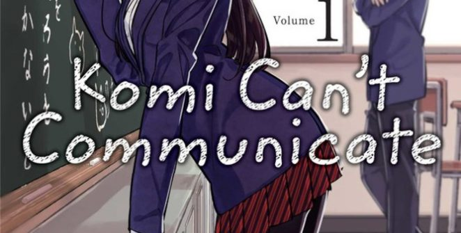 komi can't communicate review volume one